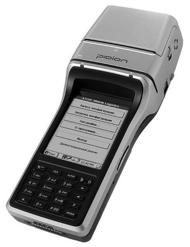 ТСД с термопринтером Pidion BIP-1300