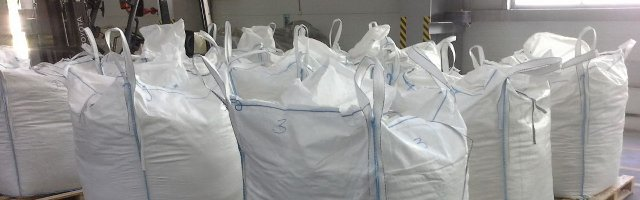 Применение сумок БИГ БЕГ для разных типов сыпучих грузов