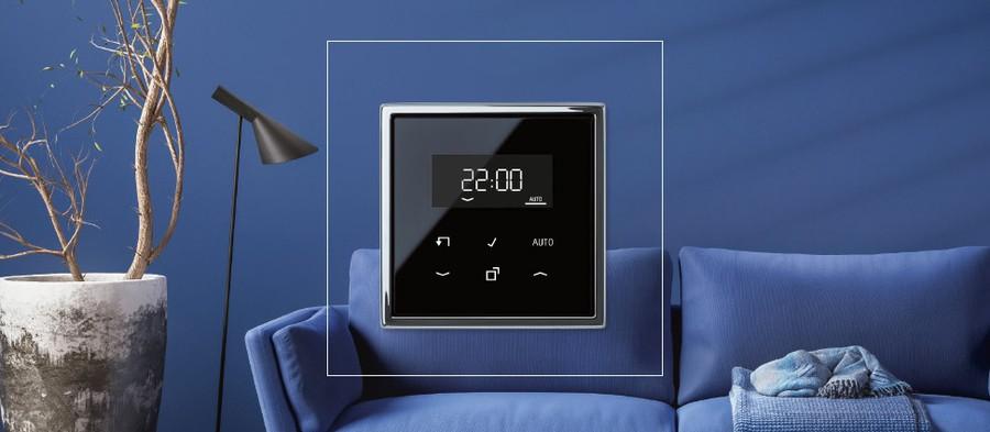 JUNG анонсировал свой первый комбинированный модуль управления освещением и зашториванием