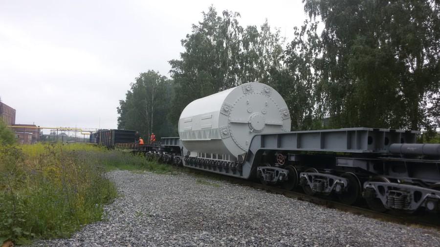 «ЭЛСИБ» отгрузил статор турбогенератора для Красноярской ТЭЦ-3 СГК