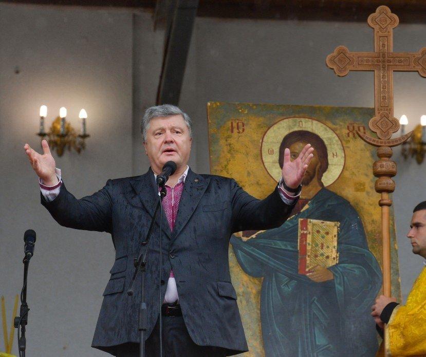 Поместная церковь является столпом нацбезопасности Украины — Порошенко