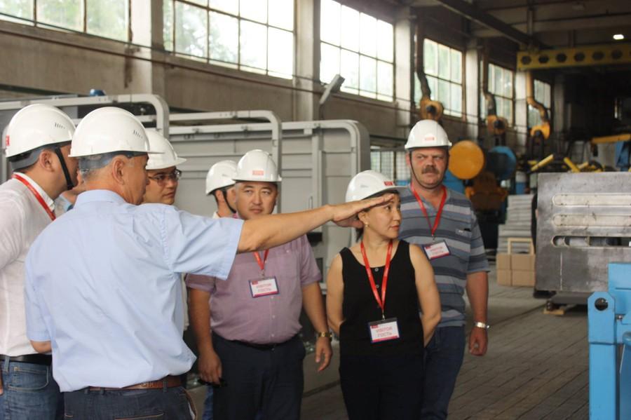 ТОО «ERG» посетили заводы Alageum Electric