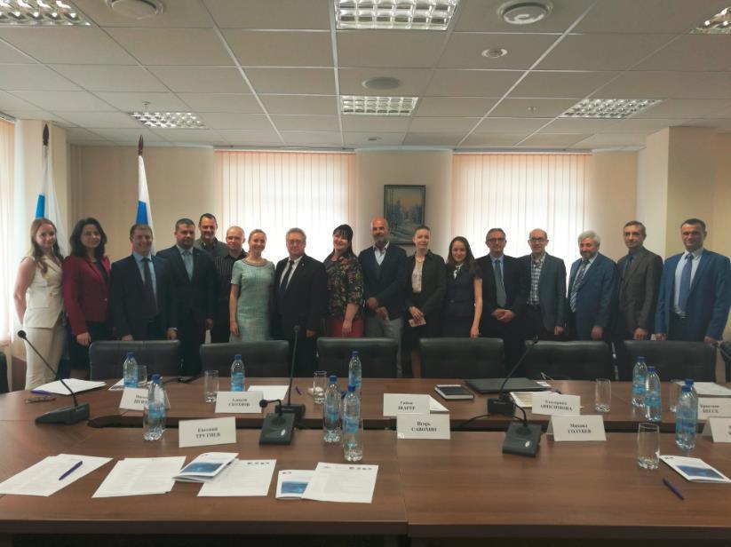 Руководство Московского филиала SDMO в составе бизнес-миссии на Урал