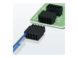 Phoenix Contact расширяет свой ассортимент компактных штекерных соединителей для печатных плат с шагом 2,54 мм