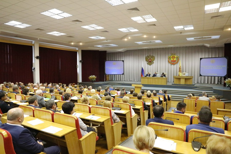 Заседание Кабинета Министров