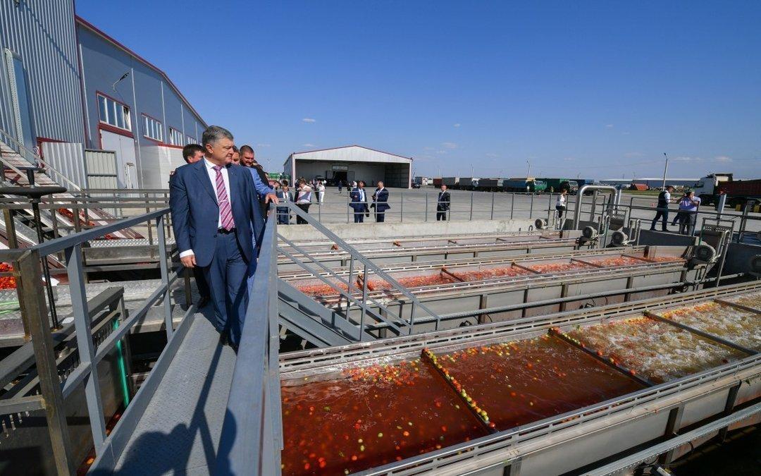 Крупнейший производитель томатной пасты открыл новую фабрику