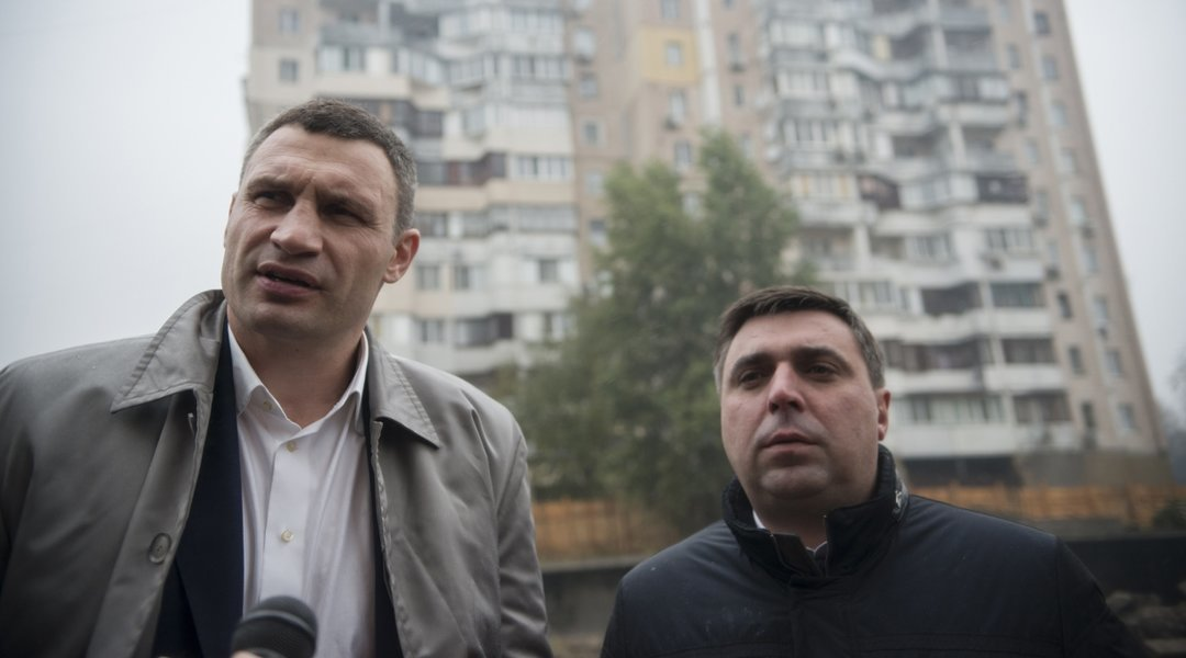 Президент наградил заместителя мэра Киева Спасибко
