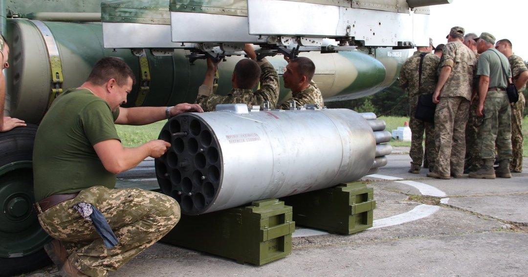 """В """"Укроборонпроме"""" испытали ракеты РС-80 для вертолетов"""