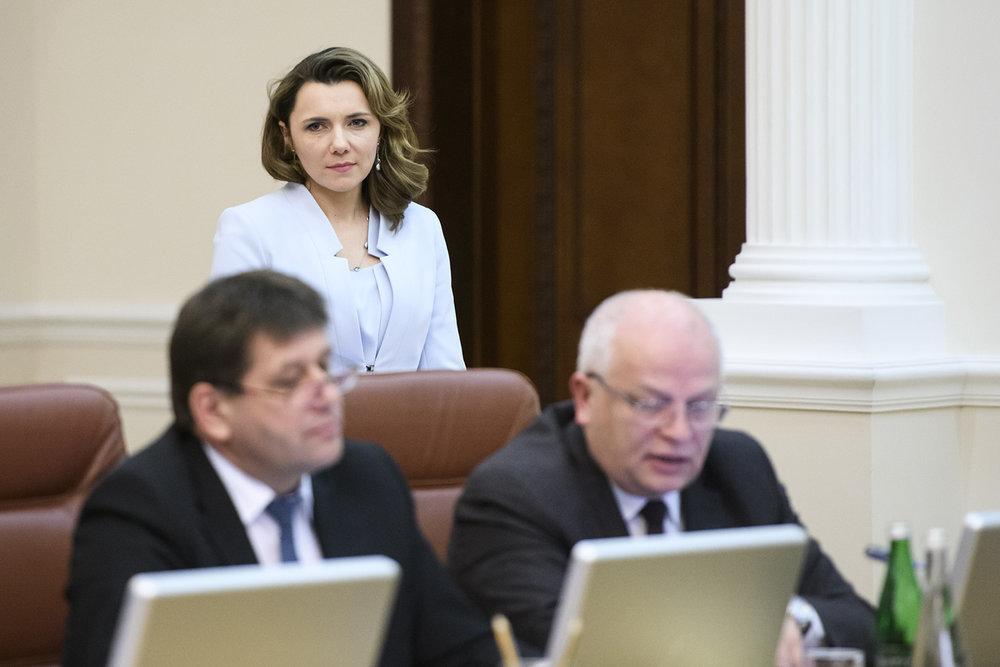 Замминистра экономики Микольскую уволили. Ее должность временно занял Нефьодов