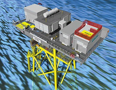 Оффшорный трансформаторный модуль Siemens OTM®