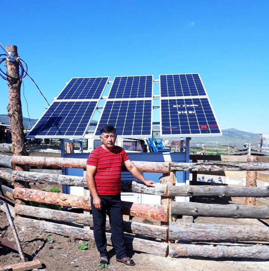 Электроснабжение фермерских хозяйств в Бурятии обеспечит солнечная энергия
