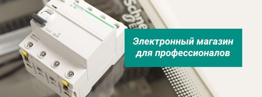 На сайте «Реал Электро» открылся новый сервис – «Электронный магазин для профессионалов»
