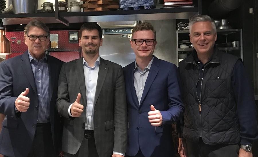Петербургские предприниматели встретились с Министром Энергетики США Риком Перри