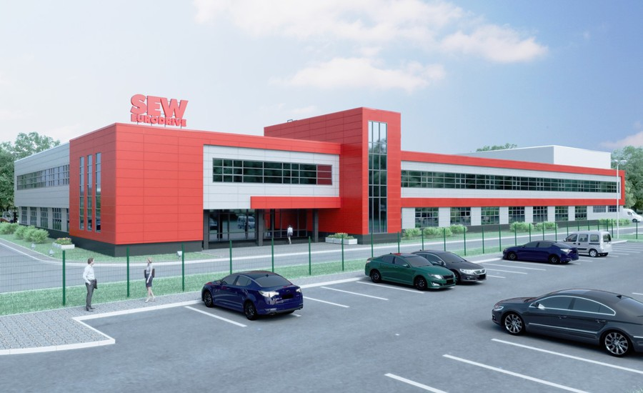 Компания SEW-EURODRIVE  инвестировала 35 млн евро в создание производства под Петербургом
