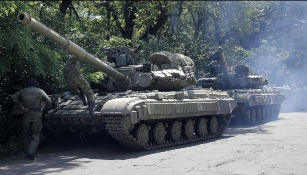 На оккупированном Донбассе ОБСЕ зафиксировала российские танки