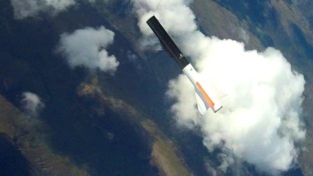 Шотландская компания с офисом в Днепре провела тестовый полет ракеты