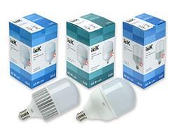 ELECTROFF пополнил свой ассортимент новыми LED-лампами HP IEK®