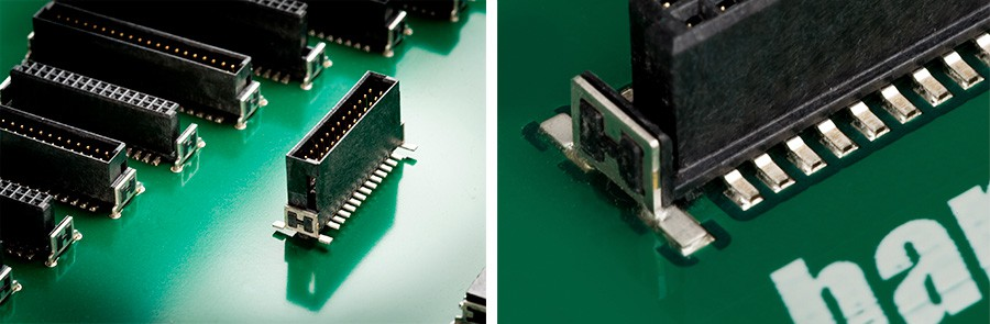 Компания HARTING дополняет семейство компактных соединителей  har-flex® с шагом 1,27 мм исполнением новой высоты