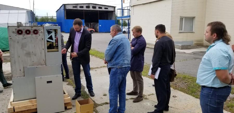 Специалисты LS IS побывали с рабочим визитом на Ленэнерго и ЛОЭСК