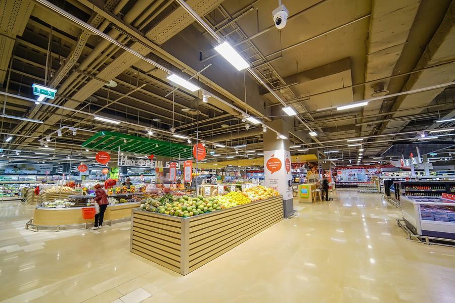 освещение Philips для гипермаркетов