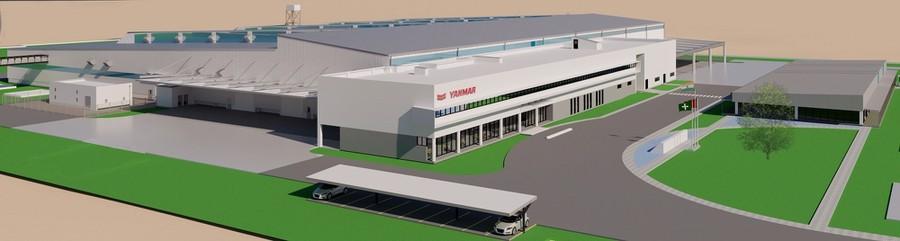 Yanmar открывает производство индустриальных двигателей в Индии