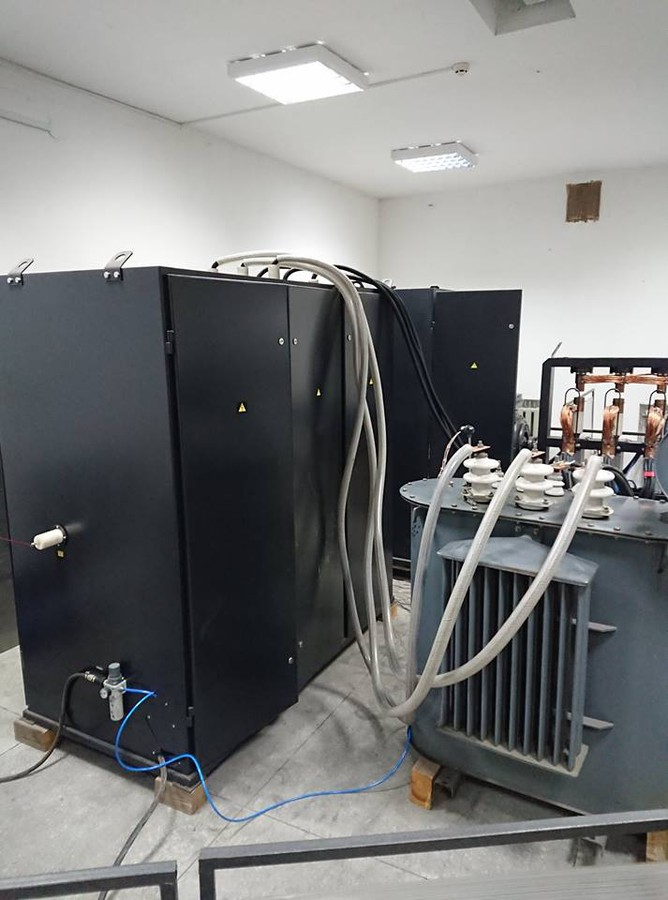 Специалисты НПП «Электромаш» произвели отладку автоматического стенда испытаний и проверки силовых трансформаторов нового поколения
