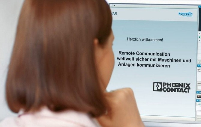 Phoenix Contact объявляет регистрацию на новый вебинар