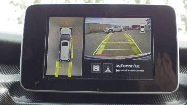 Установка камер переднего, заднего и кругового обзора на Toyota
